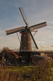 The Old Mill in the Dutch hamlet Oudemolen. The corn mill in the Dutch hamlet Oudemolen (municipality of Moerdijk, North Brabant) has functioned as such until royalty free stock image