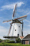Old mill in the dutch place Kloetinge Royalty Free Stock Image