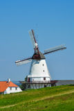The old mill of Dybbol, Denmark (4) Royalty Free Stock Photos