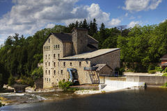The old mill in Elora, Canada Stock Photography