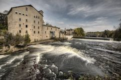 Old Mill Elora Stock Photography