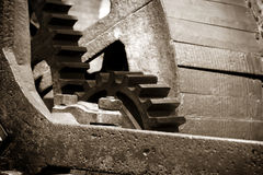 Old Mill Gears Stock Image