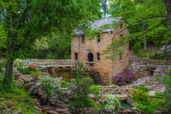 The Old Mill from Gone With The Wind movie. The Old Mill in North Little Rock, Arkansas was featured in Gone with the Wind movie, one of the opening scenes Stock Photography