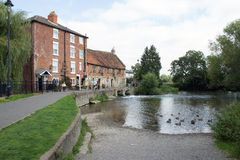 The Old Mill at Harnham Royalty Free Stock Image
