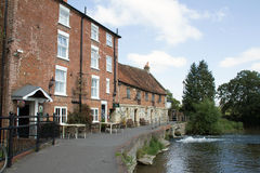 The Old Mill at Harnham 2 Stock Photo