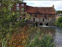 The Old Mill Harnham Salisbury. Wiltshire Royalty Free Stock Photo