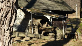 The Old Mill House stock video footage