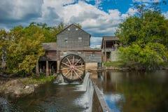 Old Mill landscape Stock Photo