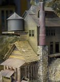 Old Mill Model. Nice old mill in this little coal town stock images