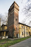 Old mill in the Monza Park Royalty Free Stock Photo