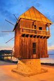 Old mill nesebar Stock Photos