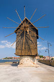 Old mill, Nessebar Royalty Free Stock Photo