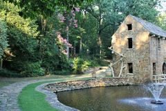 Old Mill Park, North Little Rock Stock Image