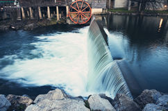 Old Mill in Pigeon Forge Stock Image