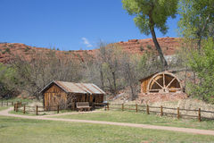 Old Mill At Red Rock Crossing In Sedona Arizona Stock Photo