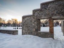 Old Mill Ruins. Purdys mill Lindsay Ontario Royalty Free Stock Photos