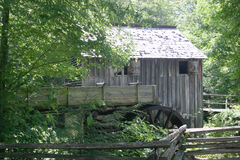 Old Mill In Tennesee. Old Mill in Cades Cove, Tenessee Stock Images