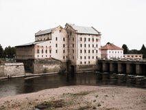 Old mill in Terezin Royalty Free Stock Images