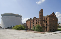Old mill in Volgograd Royalty Free Stock Images