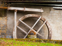 Old mill water wheel Royalty Free Stock Image