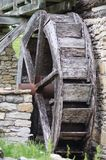 Old Mill Waterwheel Stock Photo