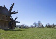 old mill westernów kościelnych mts mały Ukraine western Obraz Royalty Free