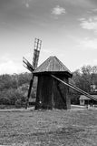 Old Mill. Old wooden mill in Sibiu - Romania Royalty Free Stock Photo