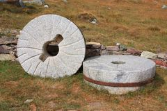 Old millstone Royalty Free Stock Images