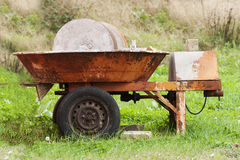 Old millstone Royalty Free Stock Image