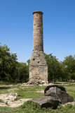 Old minaret. In Akkerman fortress Royalty Free Stock Image