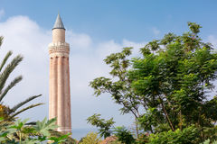 Old minarit. In old town Kaleici in Antalya, Turkey Stock Images