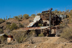 The old mine Stock Image
