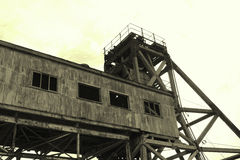 Old Mine- Broken Hill NSW Aust Royalty Free Stock Images
