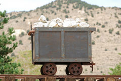 Old Mine Cart Stock Images