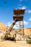 Old mine in Mazarron Royalty Free Stock Images