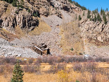 Old mine near Silverton, Colorado Stock Images