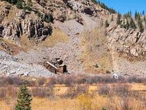 Old mine near Silverton, Colorado Stock Images
