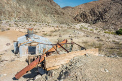Old mine on Old Toll road Royalty Free Stock Photos
