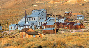 Old mine preserved in Bodie. California Stock Photography