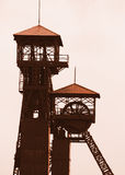 Old mine tower Royalty Free Stock Photos