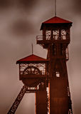 Old mine tower Royalty Free Stock Photography