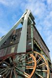 Old mine tower of Zeche Ewald stock photos
