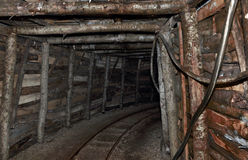 Old mine Royalty Free Stock Photo