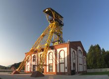 Old mine Witold in Boguszow Gorce near Wlabrzich in Poland Stock Image