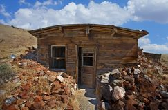 old Miner cabin shack Stock Photos
