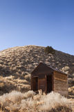 Old Miners Shack. Old Wooden Miners Shack abandoned in the Nevada desert Stock Photography