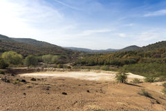 Old mines area Royalty Free Stock Image