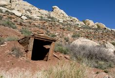 Old Mineshaft Royalty Free Stock Photography