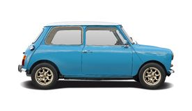 Old Mini Cooper Stock Photography