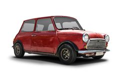 Old Mini Cooper Royalty Free Stock Images